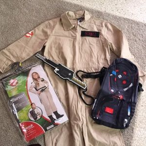 Child's Ghostbusters Halloween costume